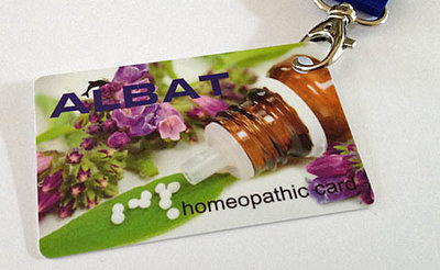 Homeopathic Card
